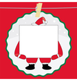 Christmas Card7 vector image vector image