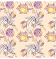 Japanese Style Floral Pattern vector image vector image