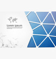 label banner polygon background colorful pattern vector image