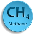 Methane vector image