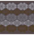Retro pattern with linear shapes in vintage style vector image vector image