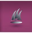 yacht club logo Modern style vector image