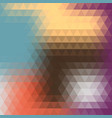 abstract colorful background of triangles vector image vector image