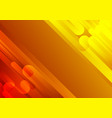 abstract modern style red and yellow diagonal vector image vector image