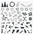 collection of arrows5 vector image vector image