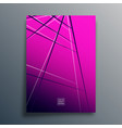 gradient texture background with abstract lines vector image vector image