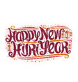 greeting card for new hijri year vector image vector image