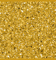 seamless yellow gold glitter texture made vector image vector image