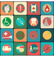set medical icons - icons vector image