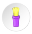 Shaving brush icon cartoon style vector image vector image