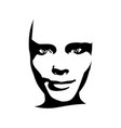 woman avatar expressions face emotions vector image vector image