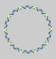 circle borders and frames round border pattern vector image vector image