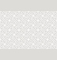 Geometric floral seamless pattern