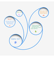 Web design bubbles vector image vector image