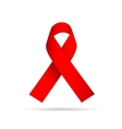 Aids Awareness Red Ribbon vector image