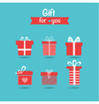 gift collection vector image