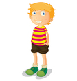 Cartoon Young Boy vector image