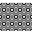 geometric seamless pattern perforated hexagons vector image