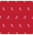 hand drawn bell seamless pattern vector image vector image