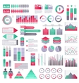 infographics elements set vector image