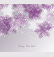 winter abstract christmas background vector image