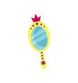 princess magic mirror accessory for a little vector image