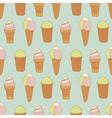 vintage icecream vector image