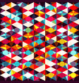 abstract colored geometric elements vector image