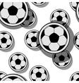 football balls vector image vector image