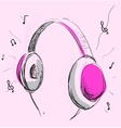Headphones vector image vector image