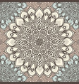 highly detailed mandala seamless pattern in a vector image vector image