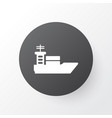 ship icon symbol premium quality isolated vessel vector image