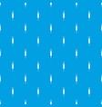 stalk of ripe barley pattern seamless blue vector image