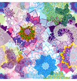 Vivid spring seamless pattern vector image vector image