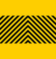 warning careful potential danger size load vector image vector image