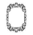 Baroque mirror frame imperial decor design