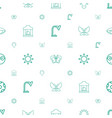 bright icons pattern seamless white background vector image vector image