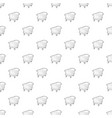 cradle pattern seamless vector image vector image