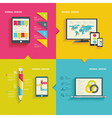 Modern infographic or webdesign concept vector image