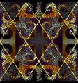 mosaic art pattern seamless image vector image vector image
