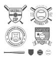Set of vintage badge emblem and elements for vector image