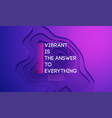 abstract purple background with abstract vector image vector image
