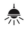 chandelier icon vector image vector image