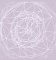 cobweb or spider web network abstract background vector image vector image