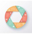 elements for infographics template vector image