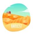 Farm Landscape vector image vector image