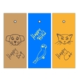 Label the sketch animals vector image vector image