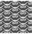 Seamless repeating lace pattern vector image vector image