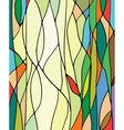 Stained glass window vector image vector image
