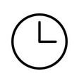 clock icon - iconic design vector image